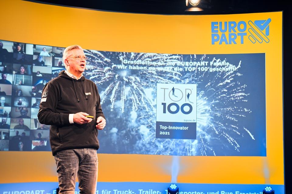 Digitaler Mitarbeiter-Event als Jahres-Kickoff von EUROPART