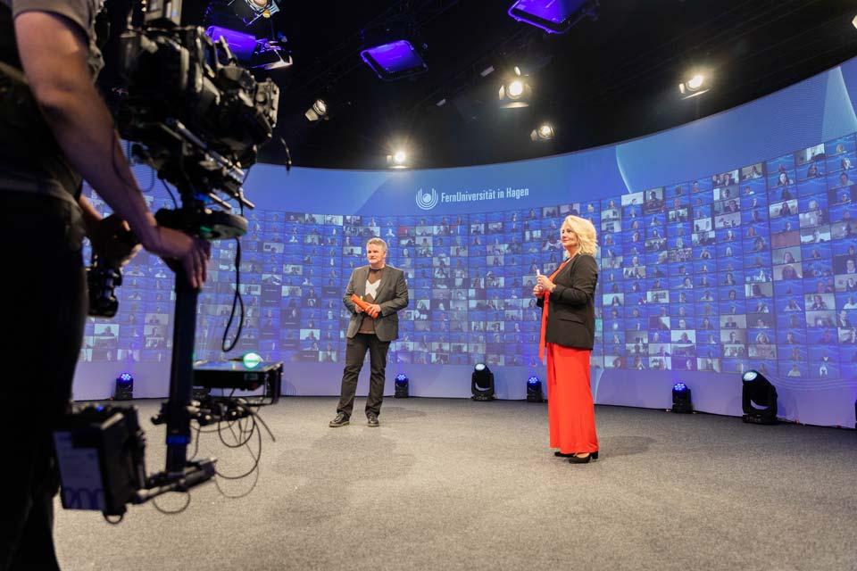 Fernuniversität Hagen Absolventenfeier digital