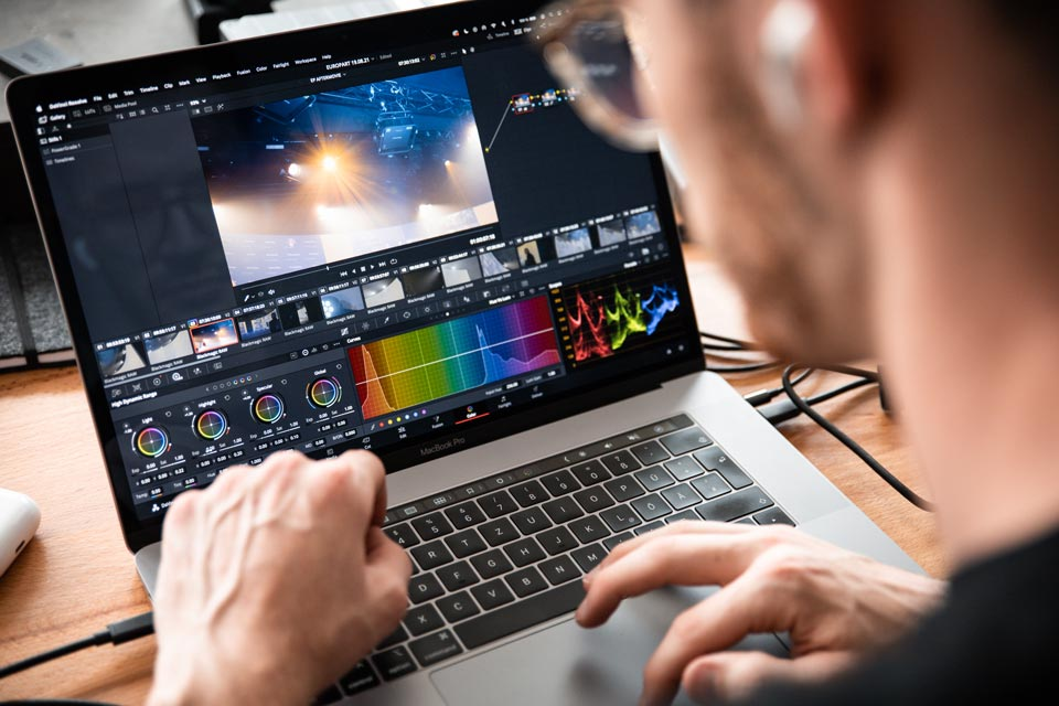 Videoproduktion im Studio4.DIGITAL